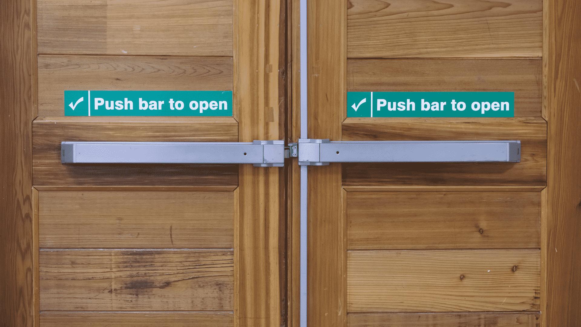 The Necessity of Push Bars