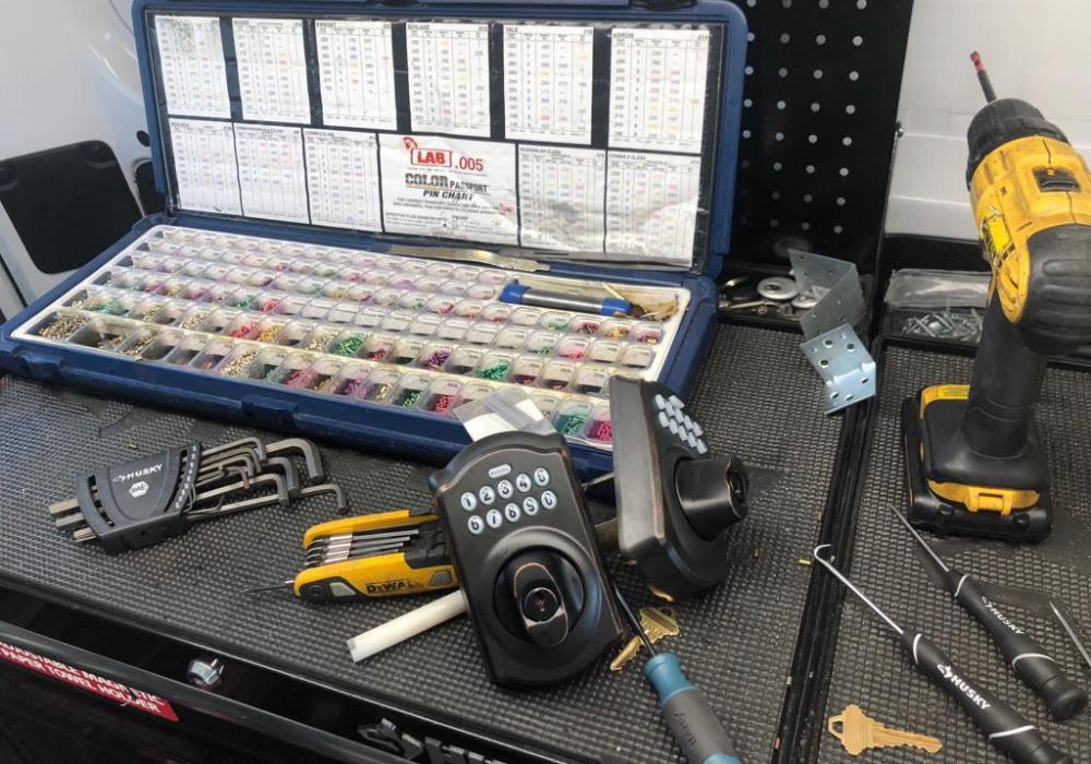 installing keypad deadbolt locks