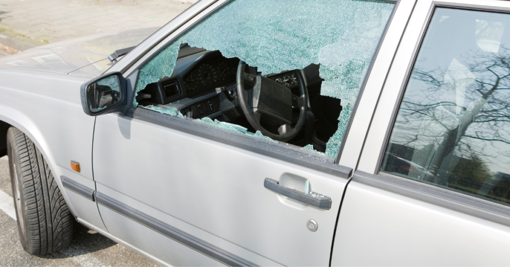 Do not break a window to know how to open a locked car door