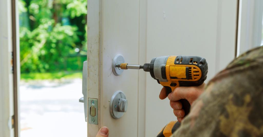 installing a smart lock