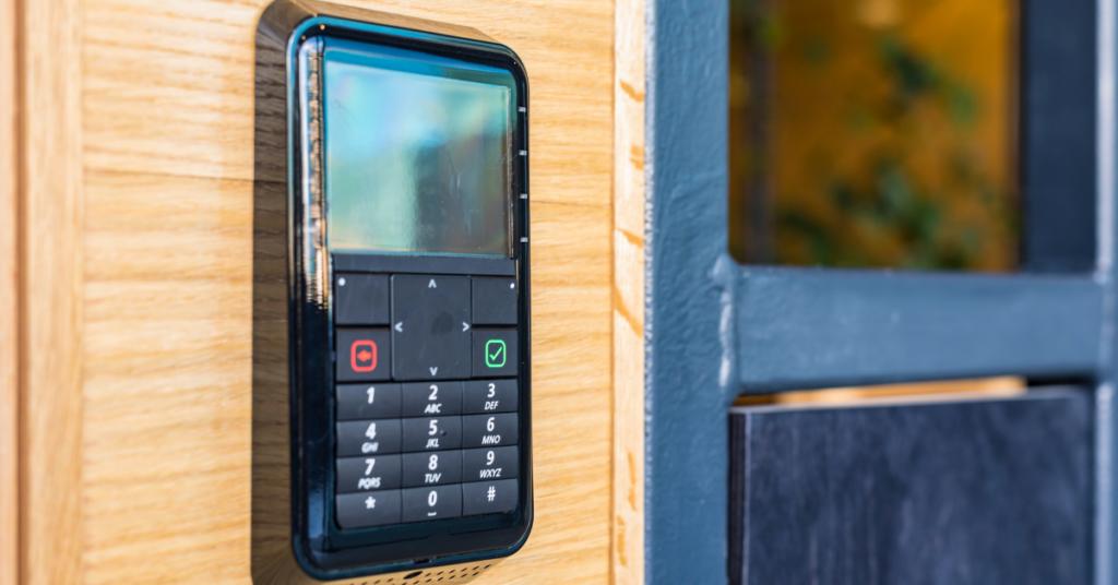 smart lock with keypad
