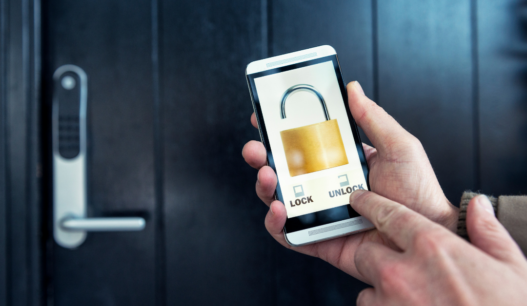 smart lock with smartphone application